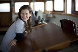 Queensland woman trades oil tanker job for Greenpeace