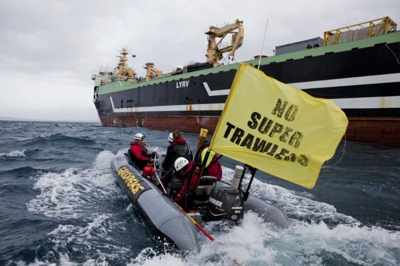 Super-trawlers are feeding on EU fishing subsidies.