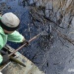 Russian Indigenous communities clean up Rusvietpetro's oil spill as company does nothing