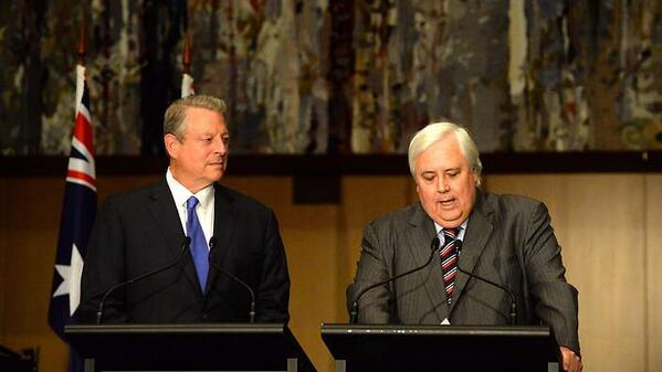 4 things to know about the Palmer-Gore climate speech