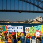 How tiny plastic people protested around the world