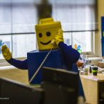 The day giant LEGO people took to the streets of Sydney