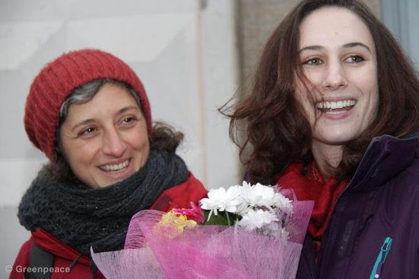 Alexandra Harris Released on Bail in St. Petersburg
