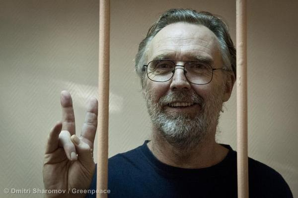 Arctic30's Colin Russell on the right to protest – one year on