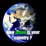 What was 2014's greenest country?