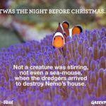 Twas the night before Christmas…