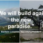 Sending the power of hope to Vanuatu