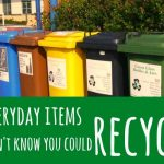 13 everyday items you didn't know you could recycle