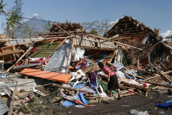 Destruction Caused by Super Typhoon Reming - Philippines 2006