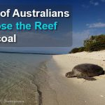 The verdict is in: 85% of Australians choose the Great Barrier Reef over coal