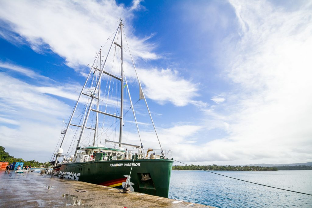 A Warm Welcome for the Rainbow Warrior in Vanuatu
