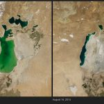 10 before-and-after photos that track the changes we've made to the Earth