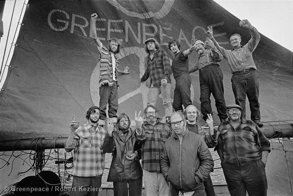 Crew of the Greenpeace - Voyage Documentation (Vancouver to Amchitka: 1971)