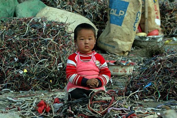 Toxics E-Waste Documentation in China