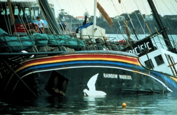 30 years on from Rainbow Warrior bombing environment voices are still needed
