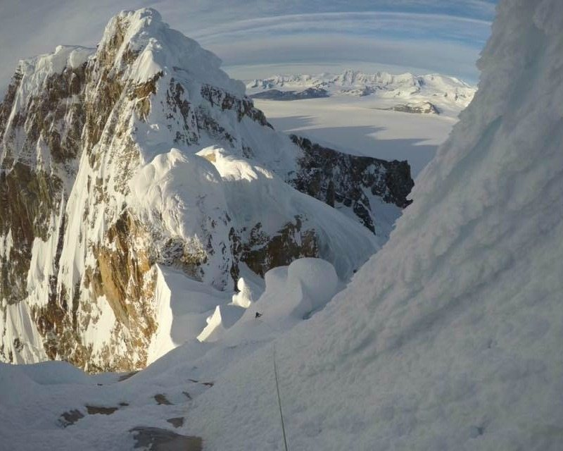 Patagonia expedition: on Cerro Torre top without PFCs!