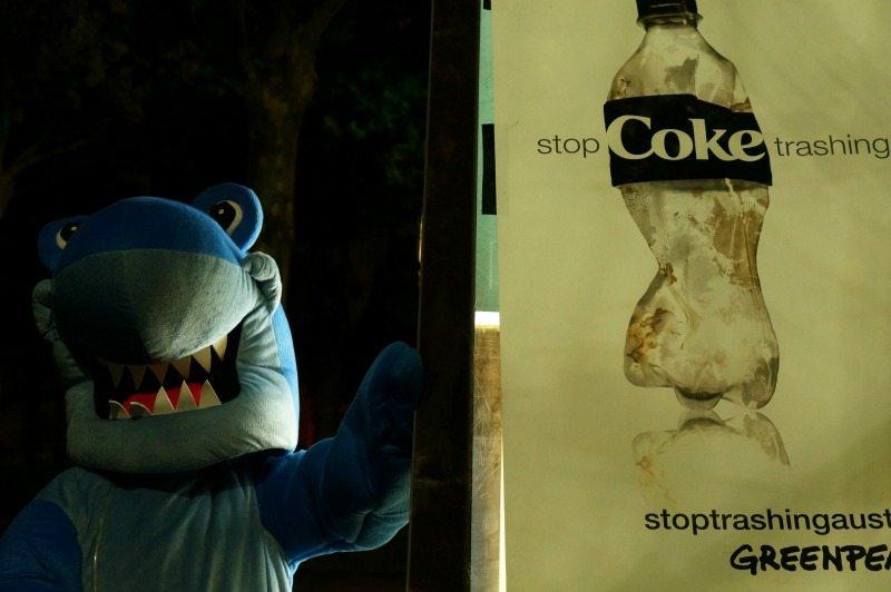 coke shark