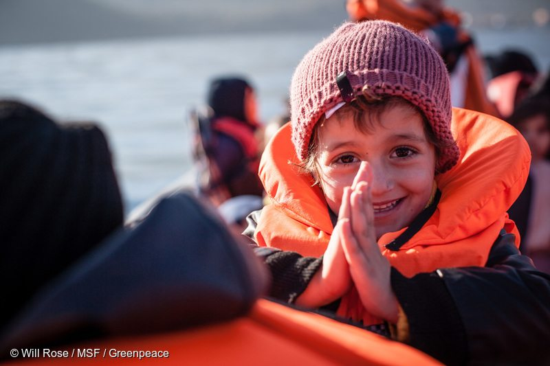 MSF and Greenpeace Launch Life Saving Operations in the Aegean Sea