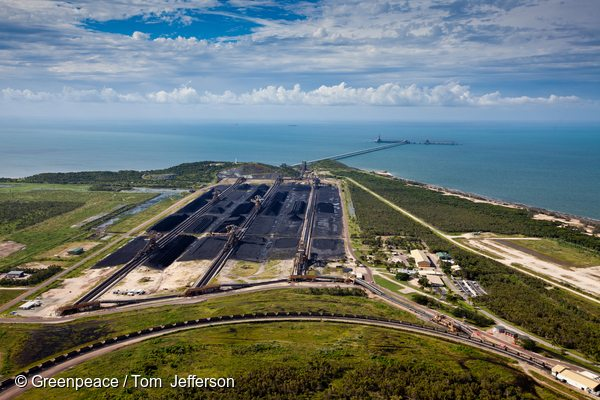 Abbot Point Coal Terminal, Queenland