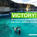 BREAKING: BP has ditched its outrageous plans to drill for oil in the Great Australian Bight. This is huge!