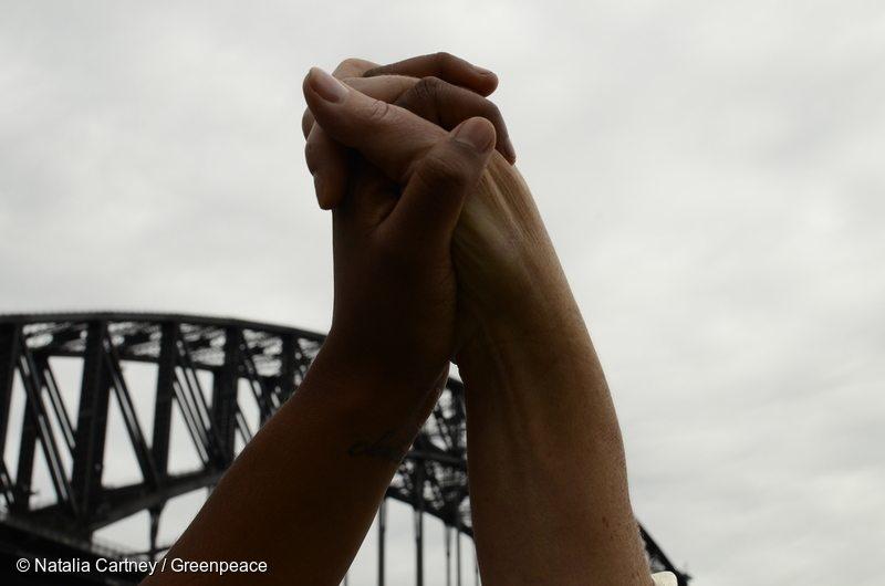 Bridges Not Walls Action in Sydney