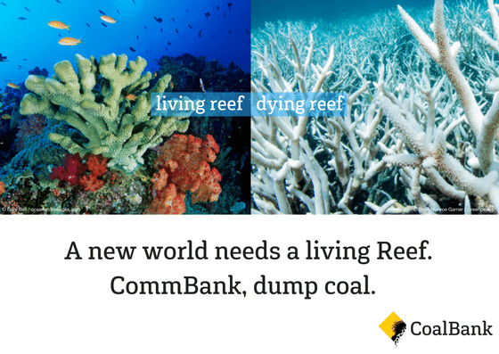 Here's how you can help pressure CommBank to dump coal