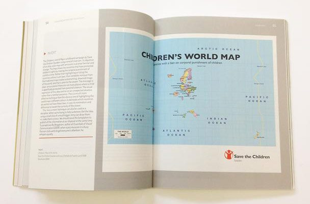 Save The Children, Children's World Map.