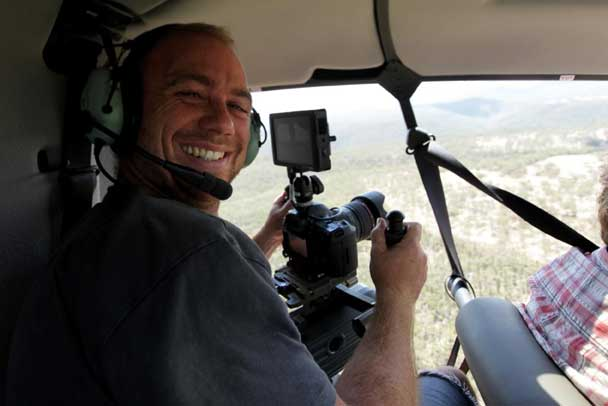 Greenpeace - videographer and photgrapher -Tom-Jefferson Image: ©Dean Sewell