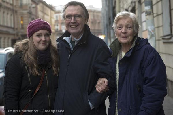Colin Russell and Family in St. Petersburg
