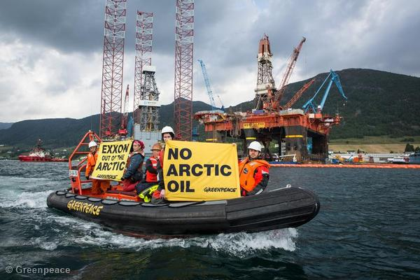 ExxonMobil out of the Arctic Action in Norway