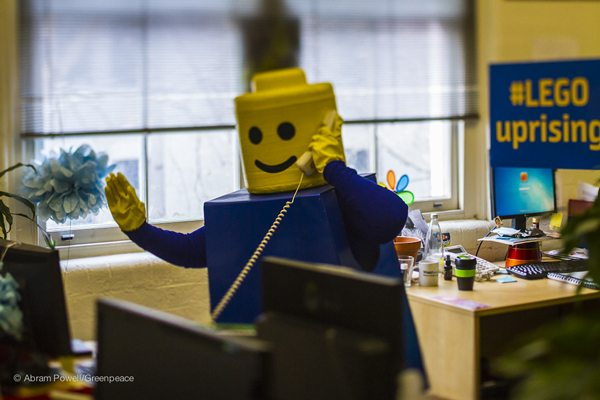 Hello this is LEGO. OMG, WTF, Shell is in bed with LEGO? Let's stop this now!