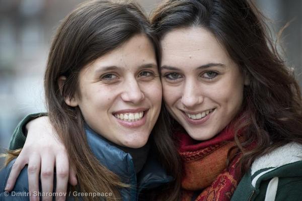 Alexandra Harris and Camila Speziale in St. Petersburg