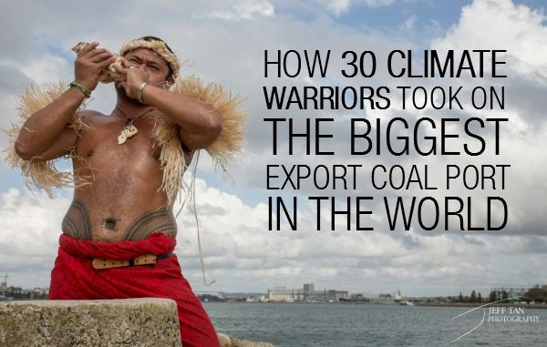 Pacific Climate Warriors take on the world's largest export coal port