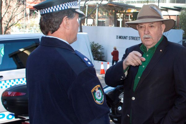 Coke had cops waiting for Greenpeace and allies at their North Sydney office