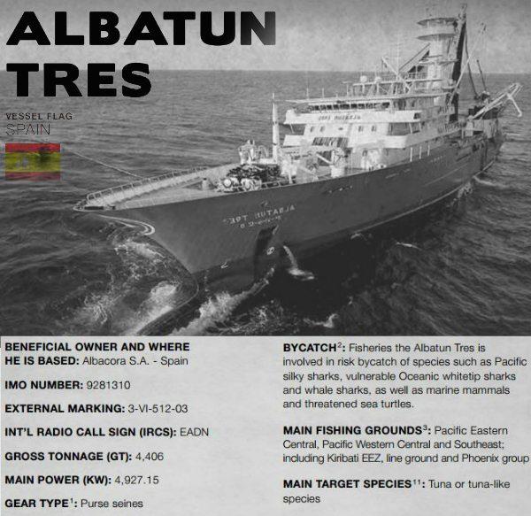 Albatun Tres - spanish trawler