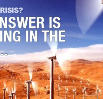 Renewable energy is the answer to our global energy crisis - here's why wind power is our future!