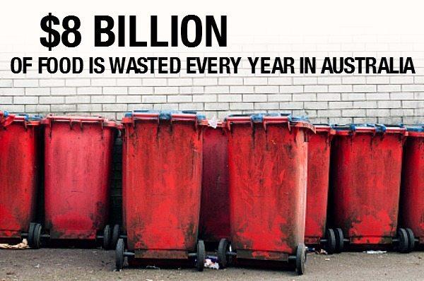 Australians waste $8 billion worth of food every year