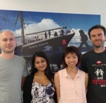 Krystal Li - Work Experience Student at the Greenpeace Australia office