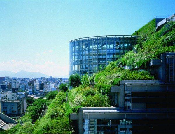 Acros Fukuoka building, Japan