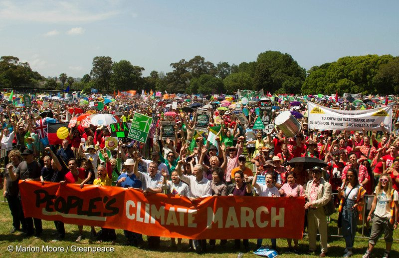 COP21: Climate March in Sydney