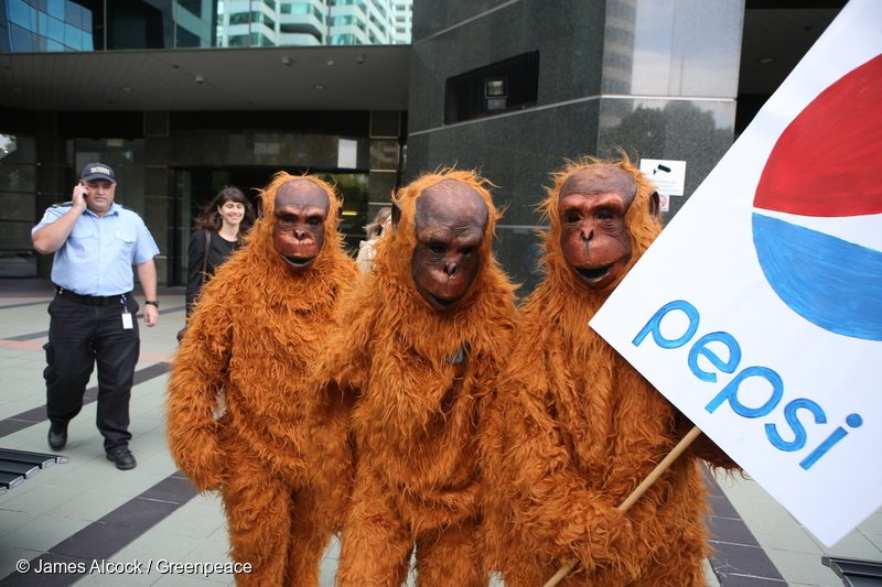 Petition Delivery to PepsiCo, Colgate-Palmolive and Johnson & Johnson in Sydney