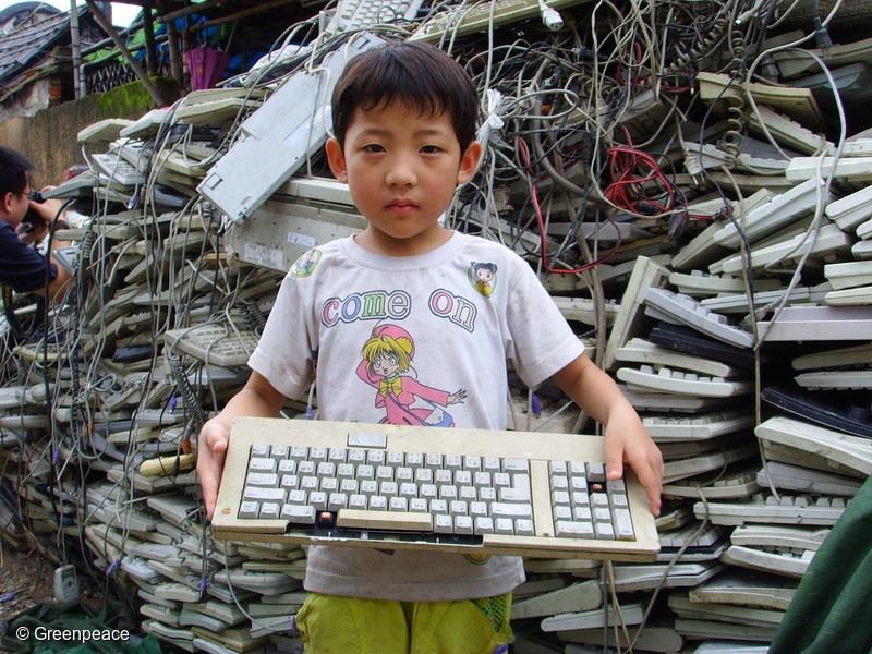 Electronic-Waste Documentation in Guiyu, China