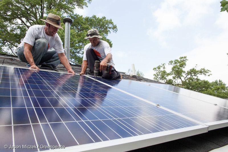 Solarize Charlotte Project Installation