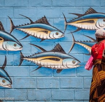 Tuna Mural in Madagascar