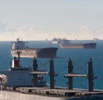 Activist Paint Message on Coal Ships