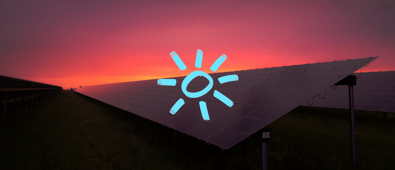 A solar panel farm providing renewable energy in Australia