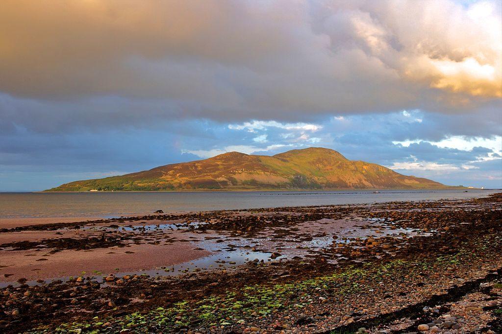 Lamlash Bay, Arran, Scotland