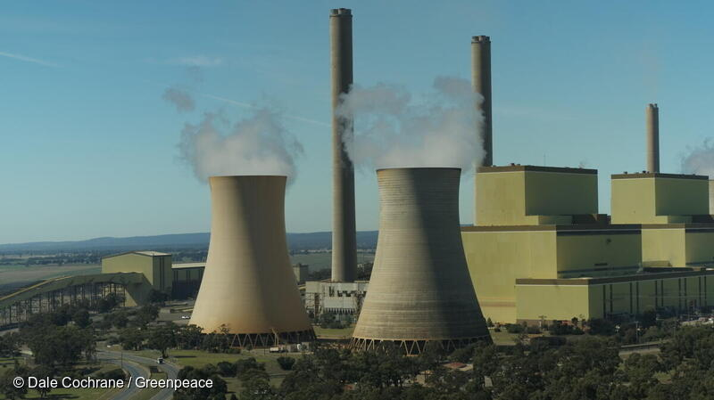 AGL Energy's Loy Yang A coal-burning power station